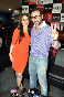 Kareena Kapoor posing with boyfriend Saif Ali Khan at film AGENT VINOD promotions at Reliance Digital Store in Mumbai Pic