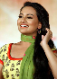 Sonakshi Sinha at film ROWDY RATHORE first look launch at BDD Chawl Grounds in Mumbai Photo