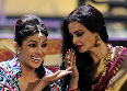 Priyanka Chopra and Rekha at IIFA Awards 2012 Pic