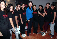 Kareena Kapoor posing with STRUT dance academy students in Mumbai photo