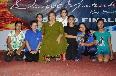 Saroj Khan motivating Children
