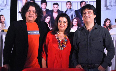 Sajid Khan with sister Farah Khan Producer Sajid Nadiadwala at film Housefull 2 first theatrical promo launch at Cinemax in Mumbai Photo