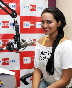 Sonakshi Sinha going live on air for listeners while promoting film ROWDY RATHORE at BIG FM Studios in Mumbai Photo