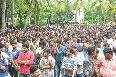 Nene Raju Nene Mantri Movie team at K L University  4