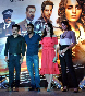 Anil Kapoor Ajay Devgn Kangna Ranaout Sameera Reddy Tezz Promotion Pic