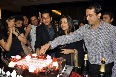 Vidya Balan with Parambrata Chatterjee cutting the special cake at film KAHAANI success party in Mumbai photo