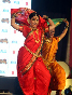 Vidya Balan dancing to lavani song Mala Jau De from FERRARI KI SAWAARI at Rangsharda Auditorium in Mumbai Photo