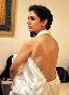 Aditi Rao Hydari posing bare back for promoting film LONDON PARIS NEW YORK Pic