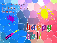 Holi Greetings Card Pic