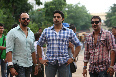 Abhishek Bachchan Ajay Devgn Bol Bachchan Movie on Sets Pic