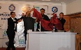 SAYO Director  Shiv Shankar Kushwah with Chef Sunil and Chef Kaviraj unveiling India s First Ultrasonic Sink