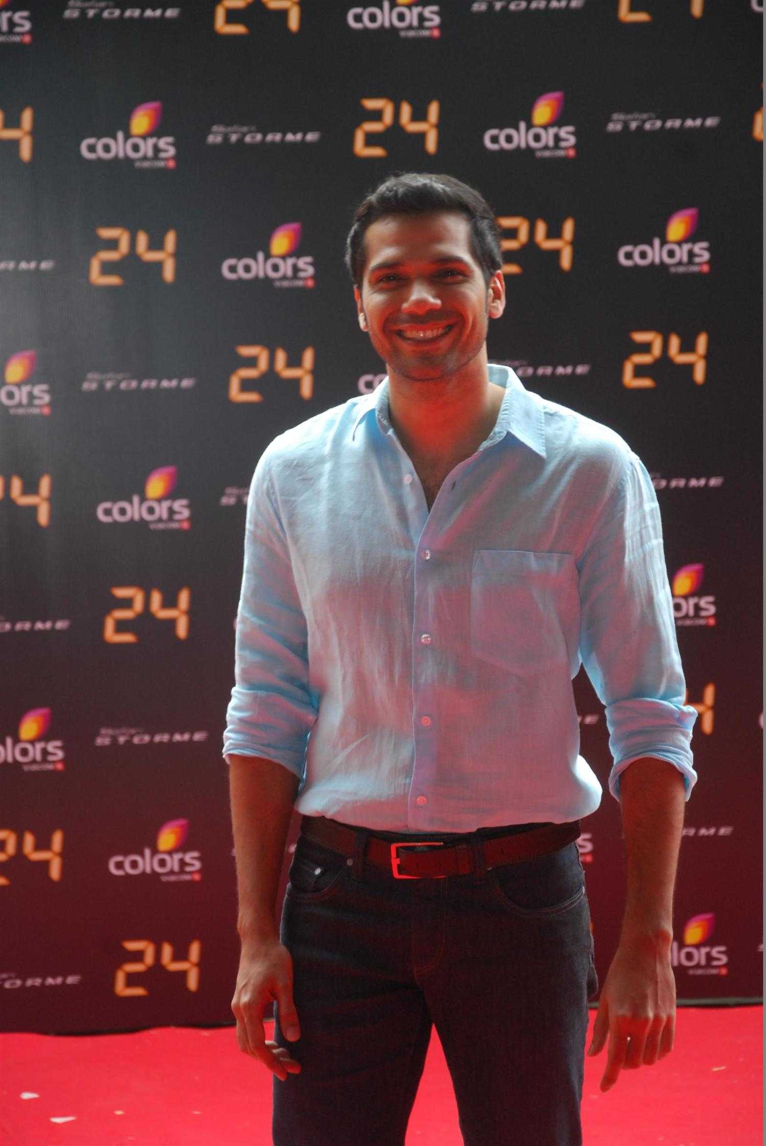 Neil Bhoopalam at the trailer launch of TV Series 24 at