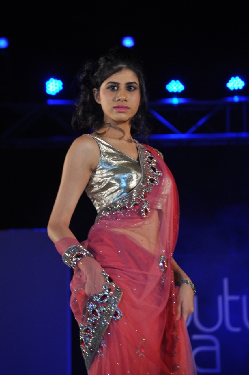 Indian Models On The Ramp At Couture For A Cause Fashion