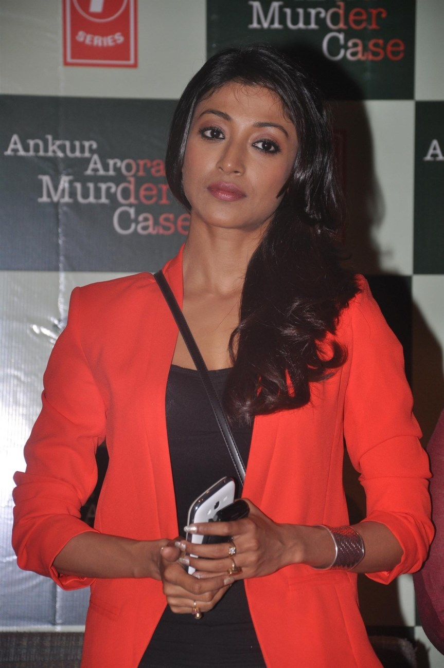 Paoli Dam At The First Look Launch Of Film ANKUR ARORA MURDER CASE