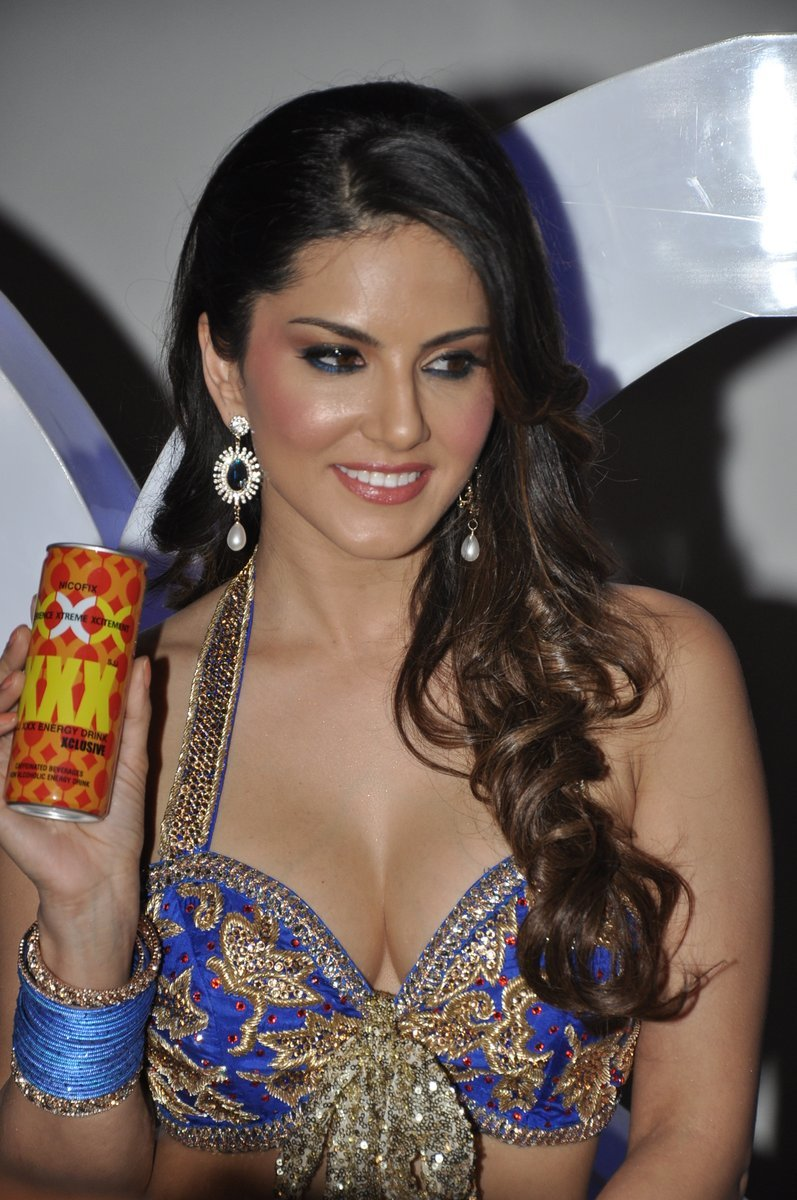 Sizzling Hot Sunny Leone at ad film shoot of XXX Energy Drink in