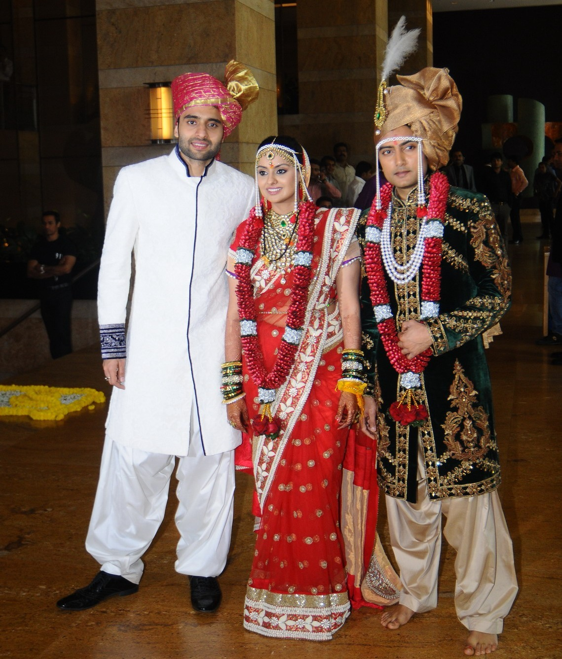 Jackky Bhagnani At The Wedding Ceremony Of His Sister