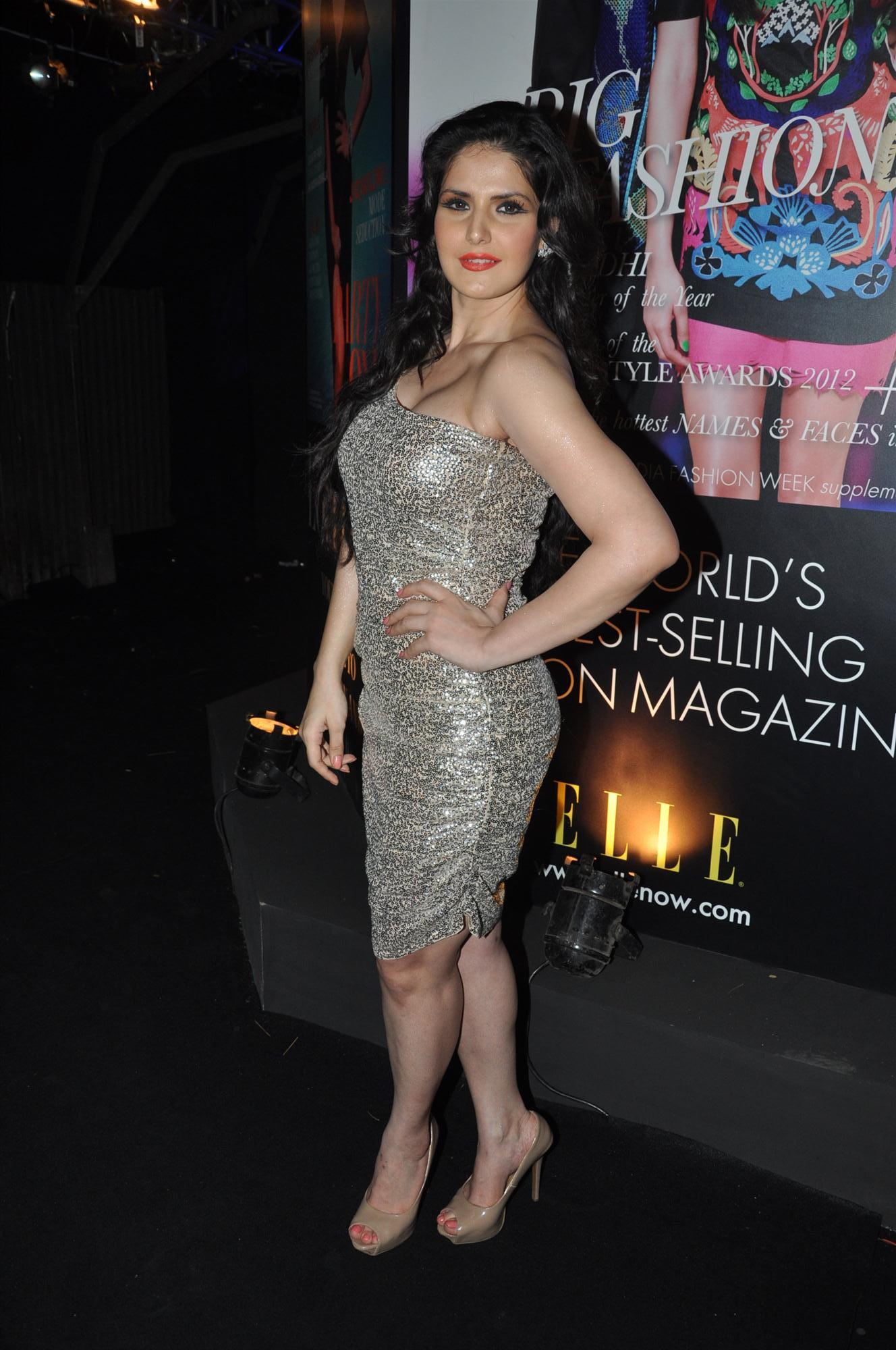 Actress Zarine Khan At The Grey Goose Style Du Jour Spirit Of
