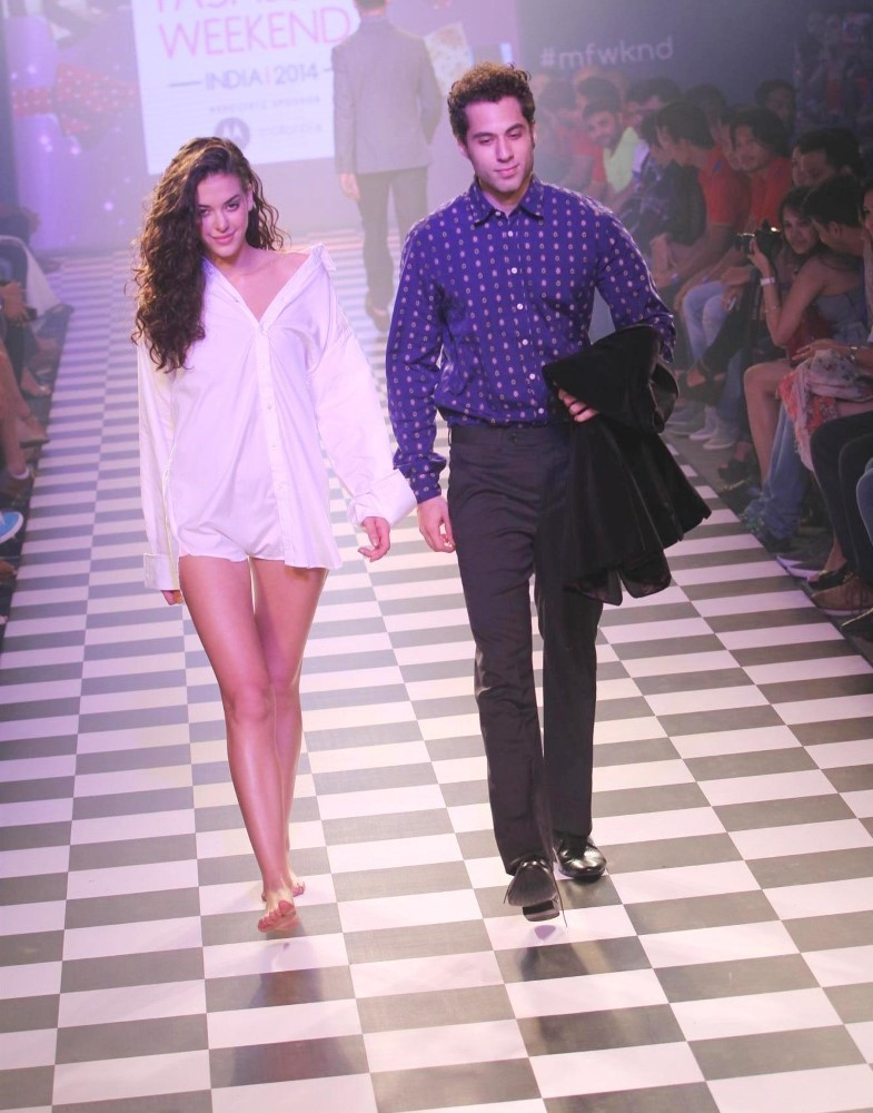 how to do ramp walk male