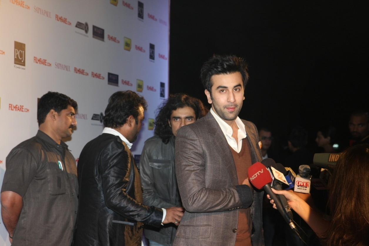 Ranbir Kapoor at Filmfare Awards 2012 Nominations Party 3 ...