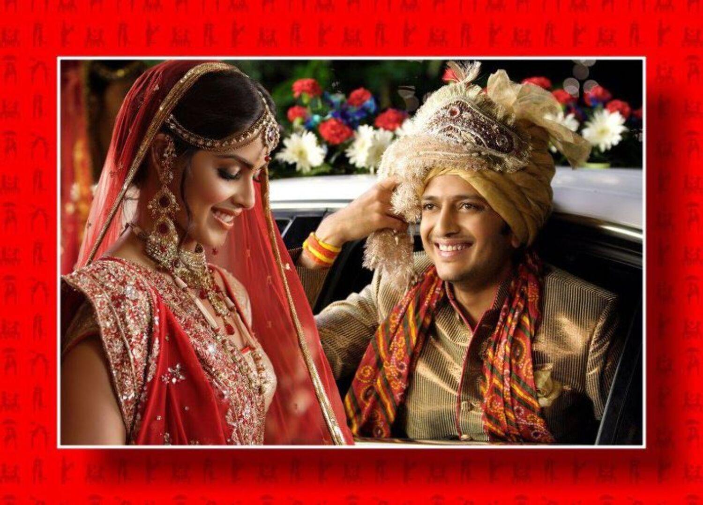 Genelai DSouza Ritesh Deshmukh Wedding Stills
