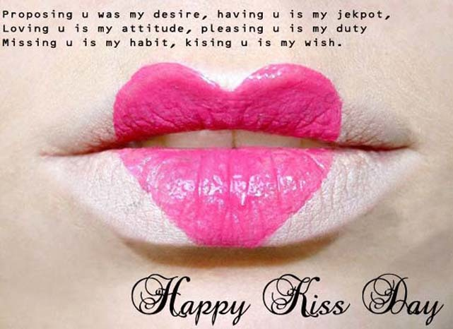 Kiss Day Quotes For Best Friend : Happy kiss day quotes on rediff pages