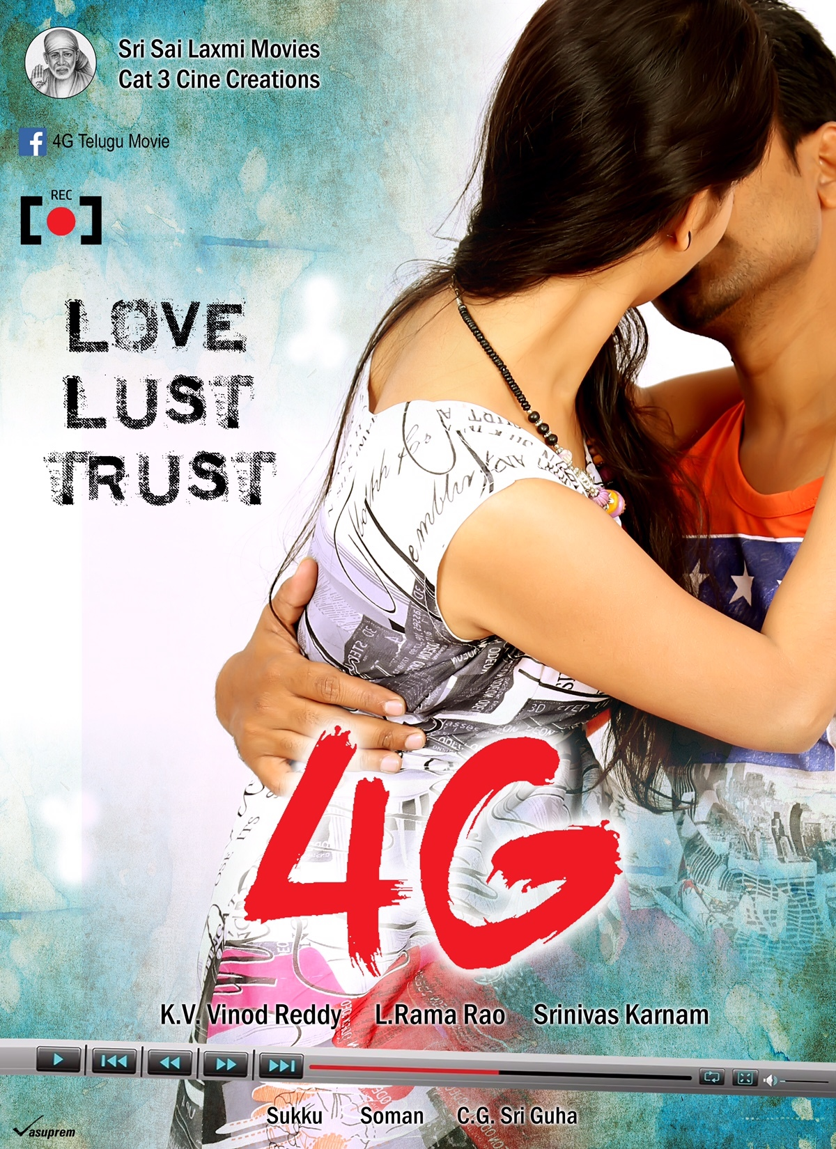 4g telugu movie poster : 4g movie on rediff pages