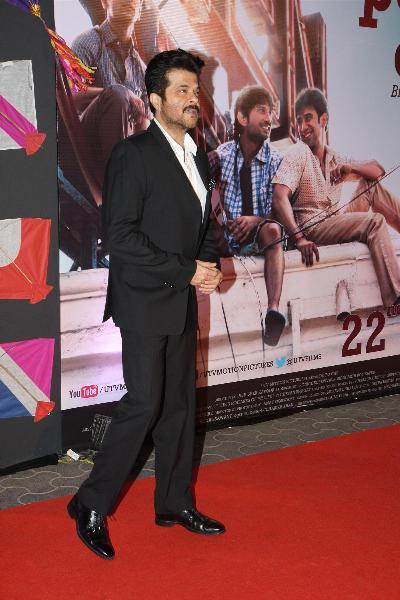 Anil Kapoor at film KAI PO CHE premiere at Cinemax in Mumbai  2