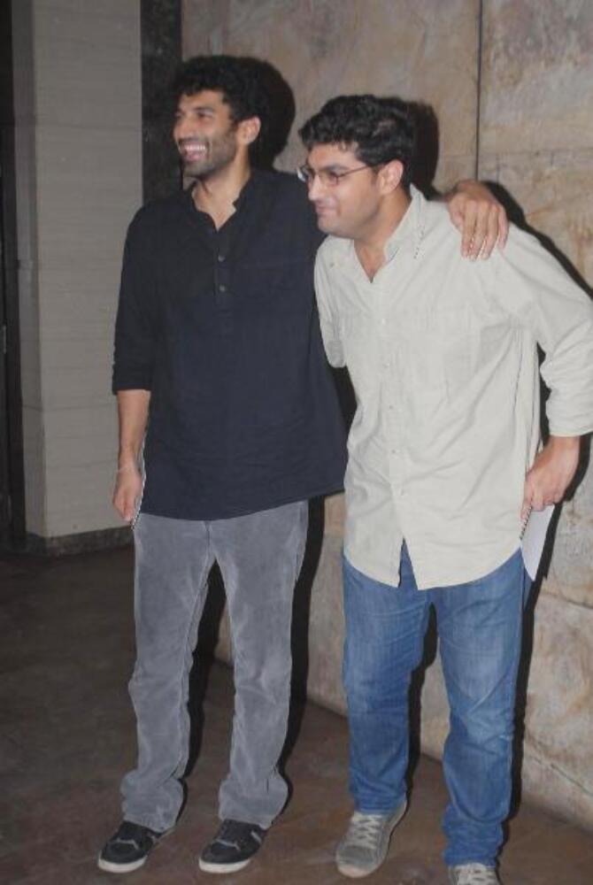 Aditya Roy Kapur with brother Kunal Roy Kapur at the ...