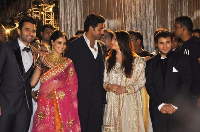 Aishwarya Abhishek Wedding Reception Photos Aishwarya Abhishek Wedding