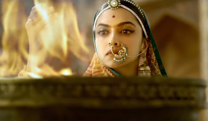 Deepika Padukone PADMAVATI Movie Stills  8
