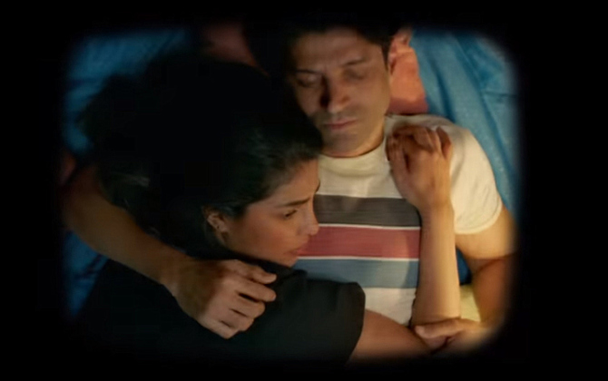 Priyanka Chopra   Farhan Akhtar Starrer The Sky Is Pink Hindi Movie Photos  41