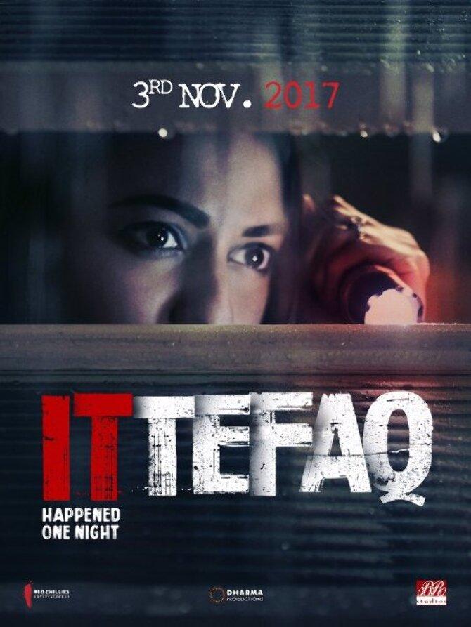 Sonakshi Sinha Ittefaq Movie Poster First Look
