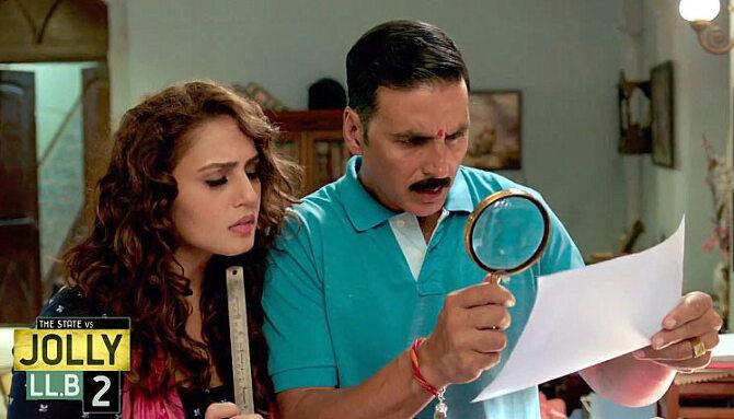 Huma Qureshi and Akshay Kumar Jolly LLB 2 Movie Stills  1