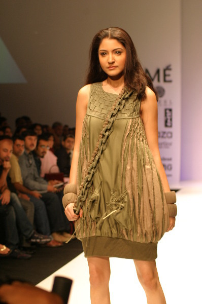 Anushka Sharma on ramp Walk
