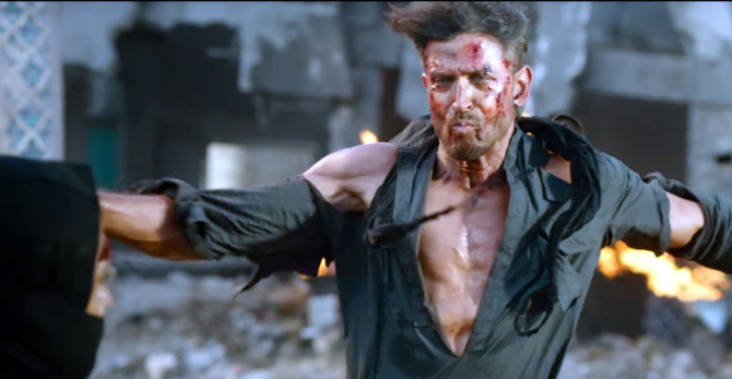 Hrithik Roshan WAR Hindi Movie Photos  21