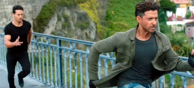 Tiger Shroff   Hrithik Roshan WAR Hindi Movie Photos  24