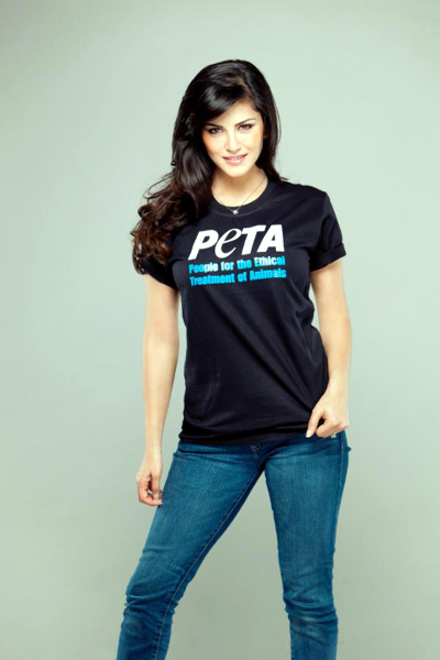 Sunny Leone Peta Ad Photo