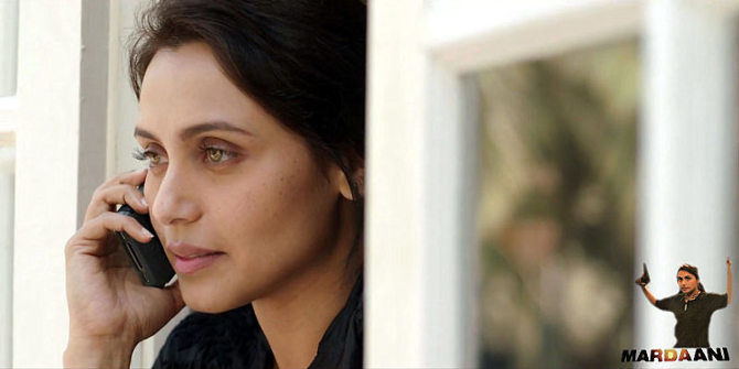 Rani Mukerji Film Mardaani  Pic