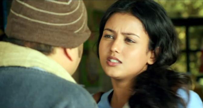 Mishti in Movie Kaanchi Image : mishti photos on Rediff Pages