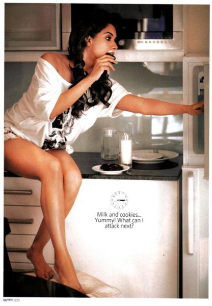 Asin Thottumkal Filmfare Magazine March 2011 Photo