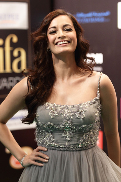 Dia Mirza IIFA Awards 2012 Green Carpet Photo