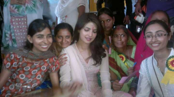 Priyanka Chopra at UNICEF girl event