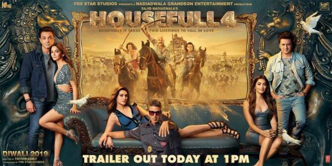 New poster of HouseFull 4