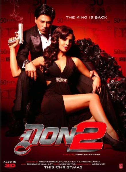 Shahrukh Khan in Don 2
