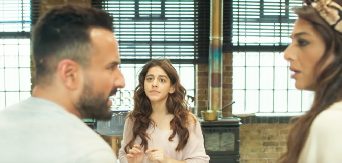 Tabu   Alaia F   Saif Ali Khan starrer Jawaani Jaaneman  Movie photos  18