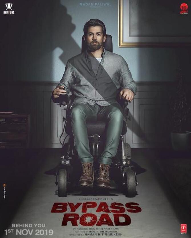 Neil Nitin Mukesh First look poster of Bypass Road