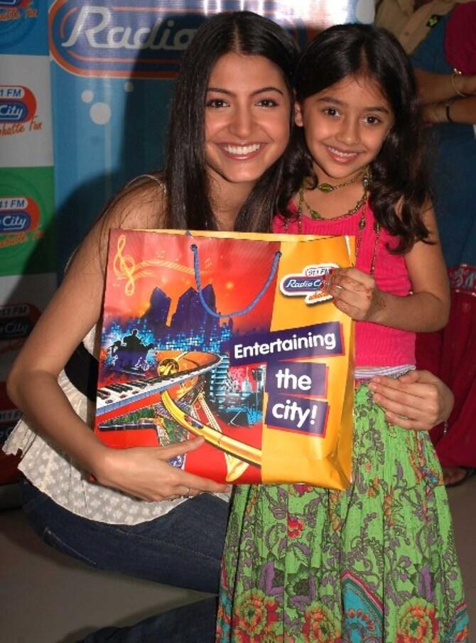 Anushka Sharma on Radio City