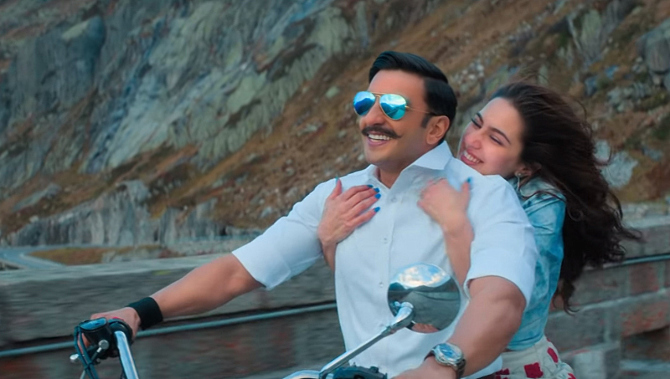SIMMBA Movie Song Tere Bin starring Ranveer Singh   Sara Ali Khan  11