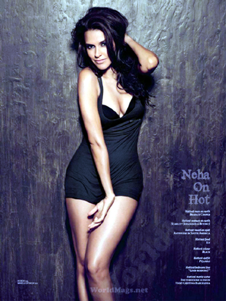 Neha Dhupia Maxim India July 2012 Images