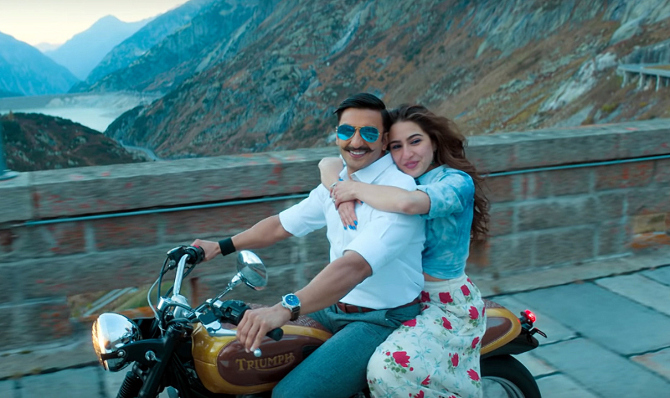 Sara Ali Khan Simmba Movie Photos  3